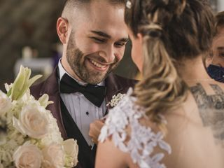 El matrimonio de Andrea y Cristian 1