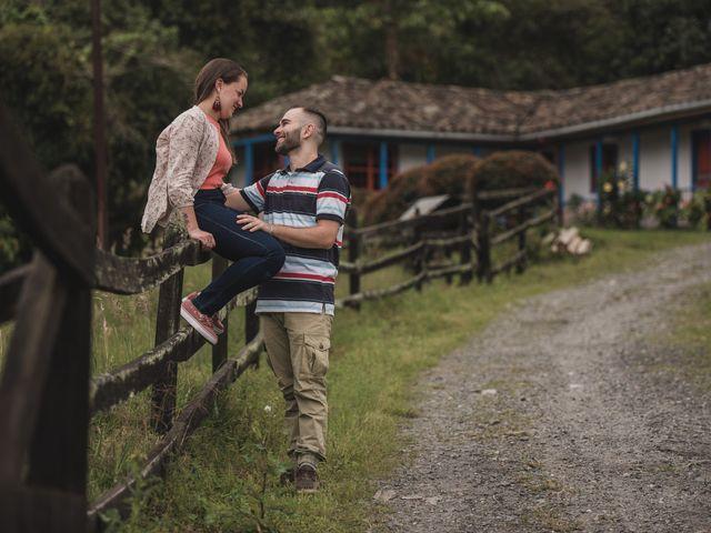 El matrimonio de Cristian y Andrea en Villamaría, Caldas 16