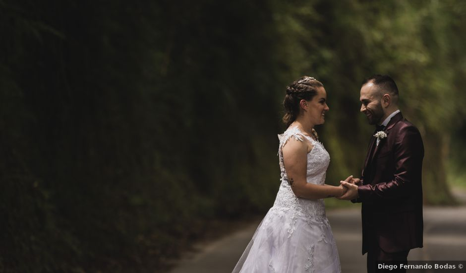 El matrimonio de Cristian y Andrea en Villamaría, Caldas