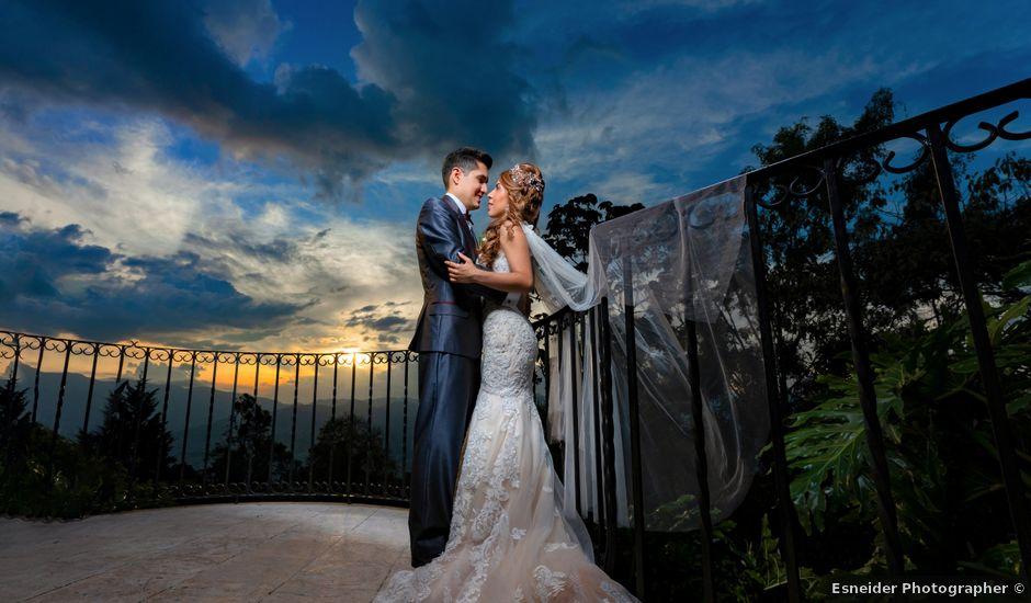 El matrimonio de David y Yessica en Medellín, Antioquia