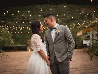 El matrimonio de Luisa  y Sebastián  1