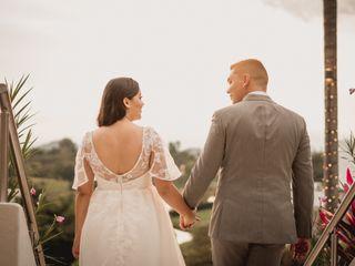 El matrimonio de Luisa  y Sebastián
