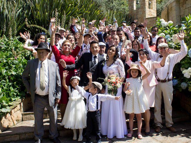 El matrimonio de Edwin y Dayana en Subachoque, Cundinamarca 35