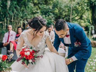 El matrimonio de Daniela y Wilmar