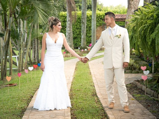El matrimonio de Natalia y Alvaro