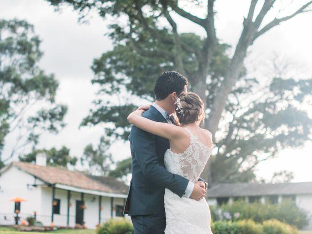 El matrimonio de Christian y Natalia en Subachoque, Cundinamarca 5
