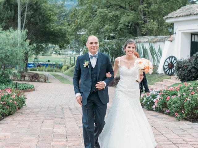 El matrimonio de Christian y Natalia en Subachoque, Cundinamarca 22