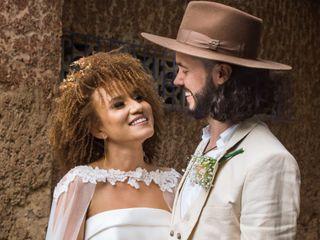 El matrimonio de Michell y Yineth