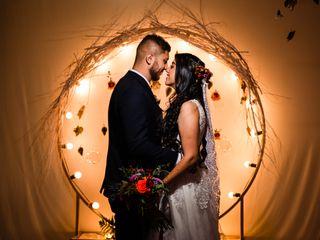 El matrimonio de Ángela y David