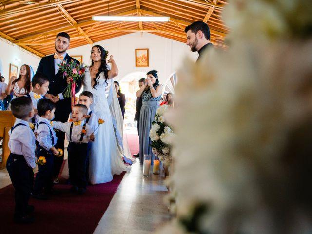 El matrimonio de David y Ángela en El Santuario, Antioquia 15