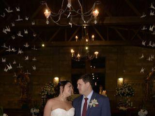 El matrimonio de Luisa Fernanda  y Andrés Felipe  1