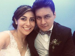 El matrimonio de Silvia y Luis