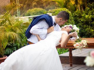 El matrimonio de Astrid y Santiago