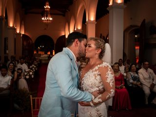El matrimonio de Gloria y Juan 1