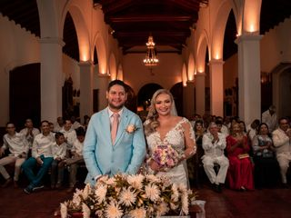 El matrimonio de Gloria y Juan