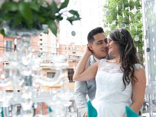 El matrimonio de Johana y Marlon