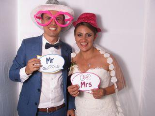 El matrimonio de Yanet y Esteban