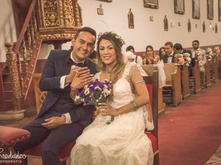 El matrimonio de Isabel y Rafael