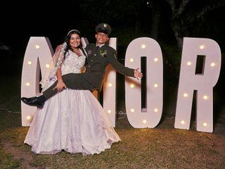 El matrimonio de Johan y Monica