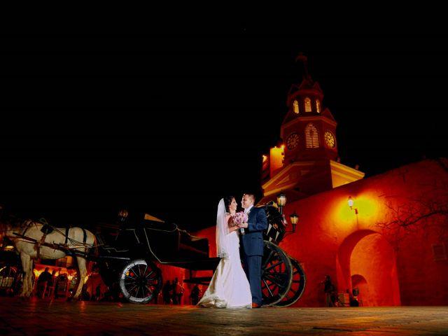El matrimonio de Alejandro y Natalia en Cartagena, Bolívar 3
