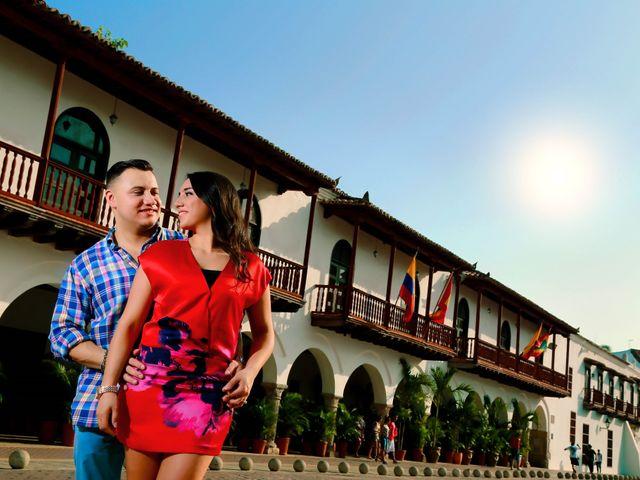 El matrimonio de Alejandro y Natalia en Cartagena, Bolívar 12