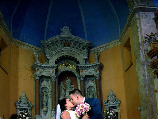 El matrimonio de Alejandro y Natalia en Cartagena, Bolívar 20