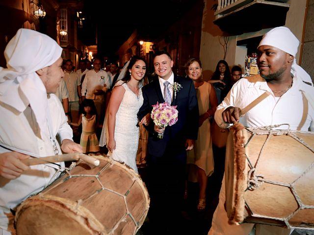 El matrimonio de Alejandro y Natalia en Cartagena, Bolívar 21