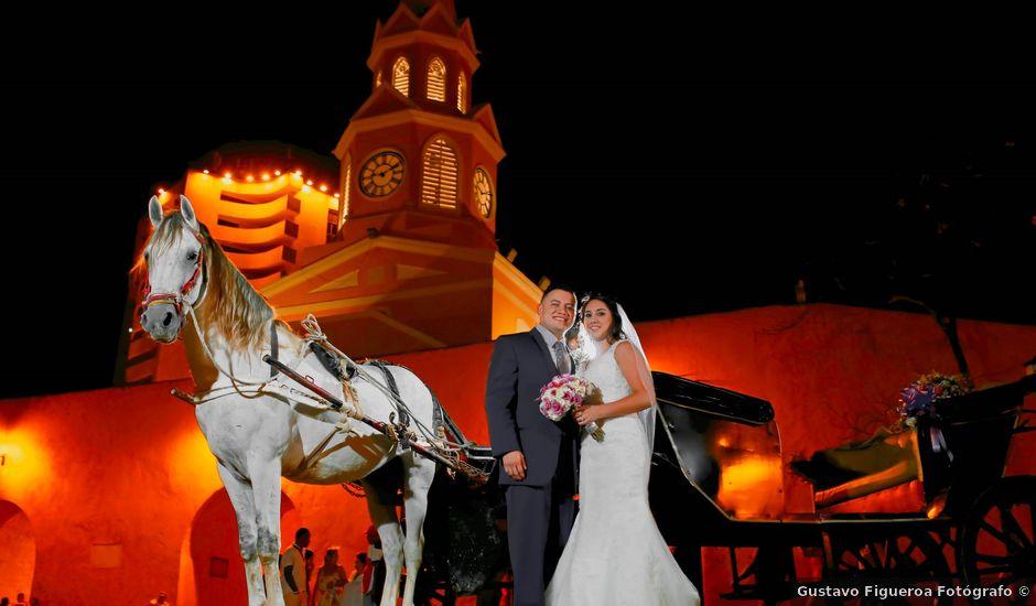 El matrimonio de Alejandro y Natalia en Cartagena, Bolívar