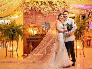 El matrimonio de Victoria y Mauricio