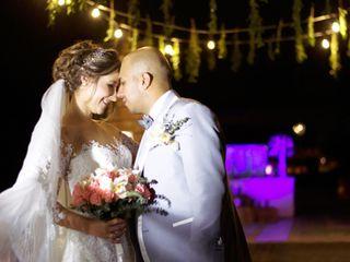 El matrimonio de Catalina y Armando