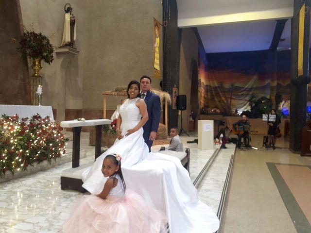El matrimonio de Aida Shirley y Luis Guillermo
