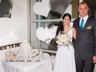 El matrimonio de Erika y Jaime