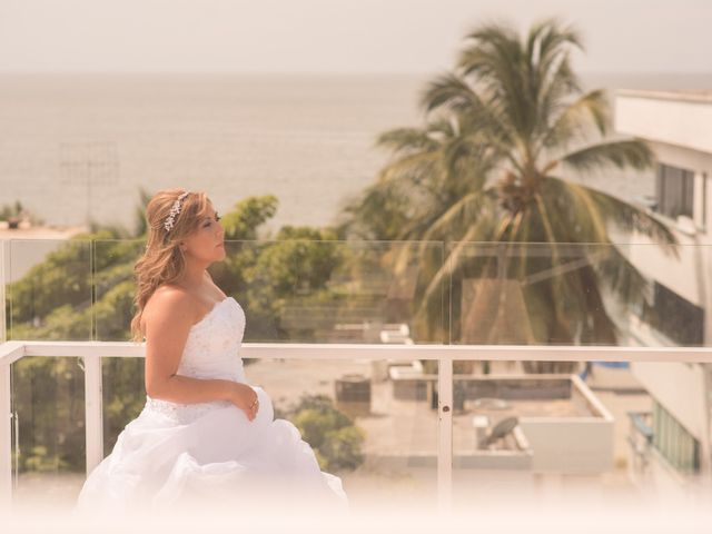 El matrimonio de Camilo Montealegre  y Luz Soraya Pérez  en Santa Marta, Magdalena 22