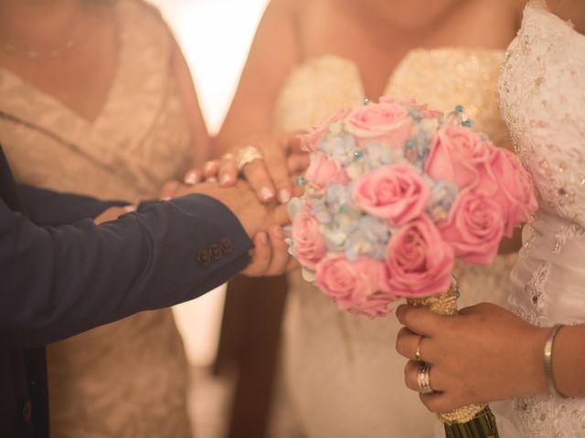 El matrimonio de Camilo Montealegre  y Luz Soraya Pérez  en Santa Marta, Magdalena 38