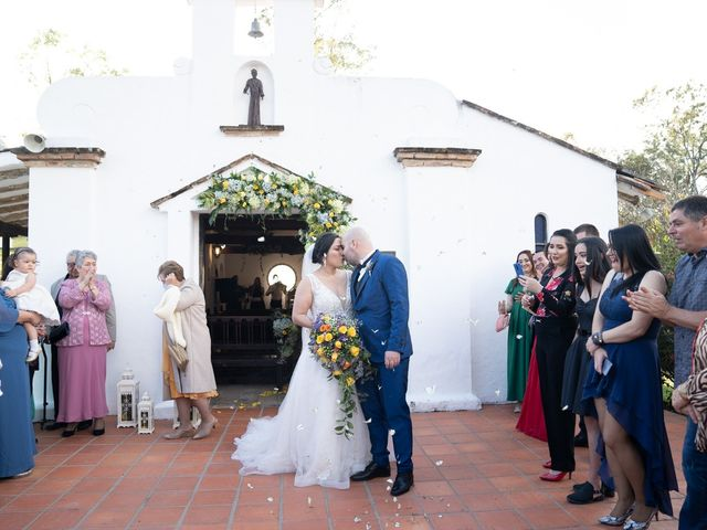 El matrimonio de Natalia Fernanda y Robinson