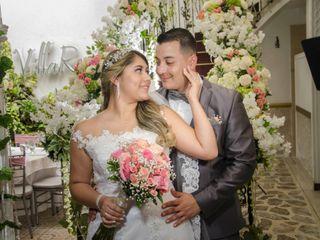 El matrimonio de Luisa y Robinson