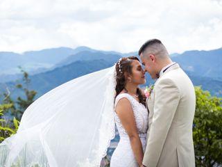 El matrimonio de Alexandra y Nelson