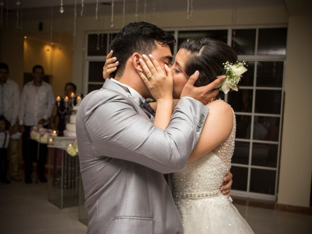 El matrimonio de Norida y Manuel