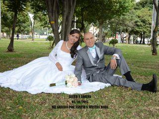 El matrimonio de Lorena y Javier