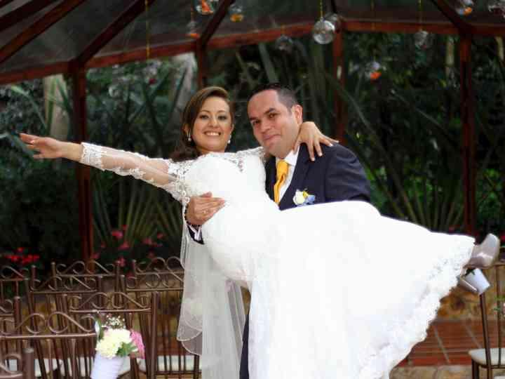 El matrimonio de Mayerly y Luis