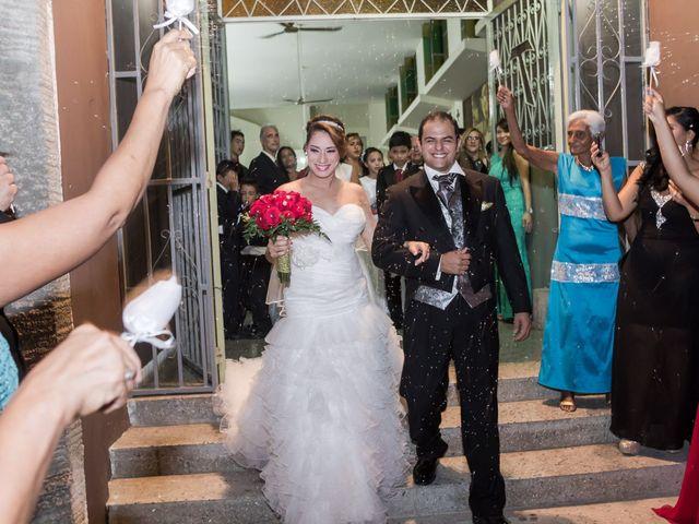 El matrimonio de Areana y Manuel