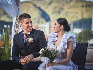 El matrimonio de Paula y Maxime