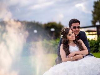 El matrimonio de Viviana y Cristhian