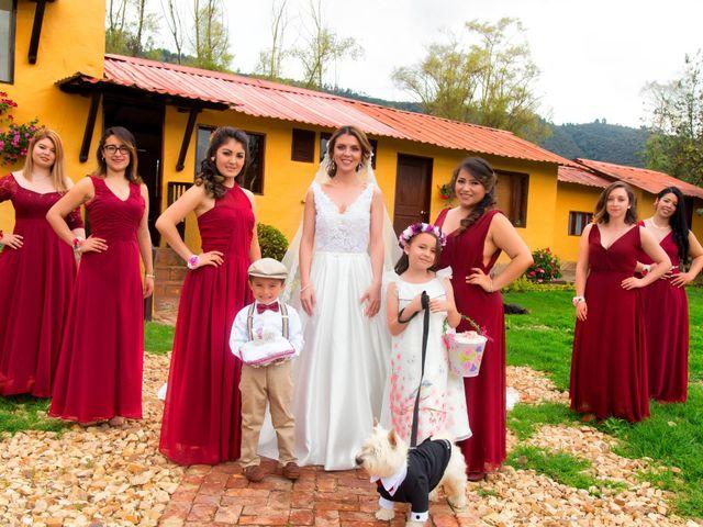 El matrimonio de Luis y Lisseth en Subachoque, Cundinamarca 10