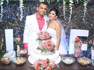 El matrimonio de Silvia y Leonel