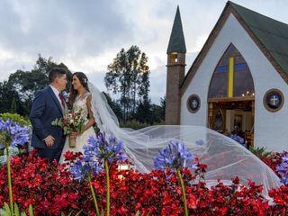 El matrimonio de Julián y Daniela