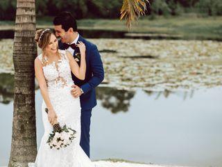 El matrimonio de Natalia y Santiago 1