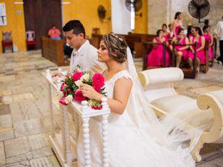 El matrimonio de Natalia y Engells 1