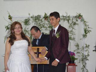 El matrimonio de David Andrés y Paula Andrea  1