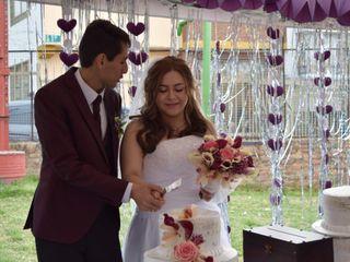 El matrimonio de David Andrés y Paula Andrea